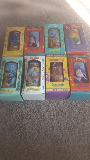 8 boxed vintage collectable 90's Disney glasses for Sale in Pittsburgh, PA