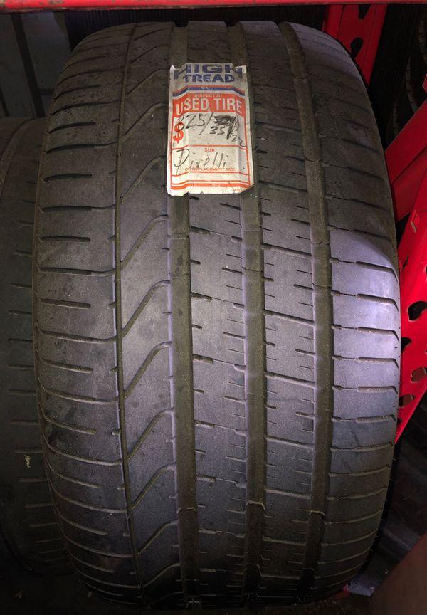 325/35/22 Pirelli tire