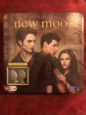 Twilight Saga New Moon the movie board game in collectible tin. Brand new for Sale in Murfreesboro, TN