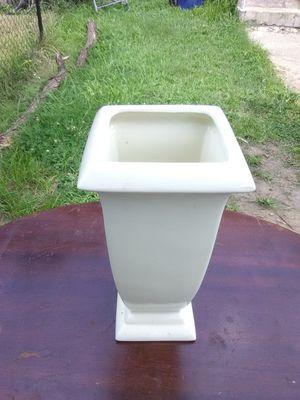 Beige Ceramic Vase for Sale in Washington, DC