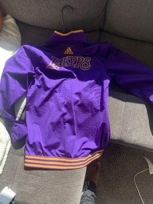 Adidas laker bomber jacket medium for Sale in Fresno, CA