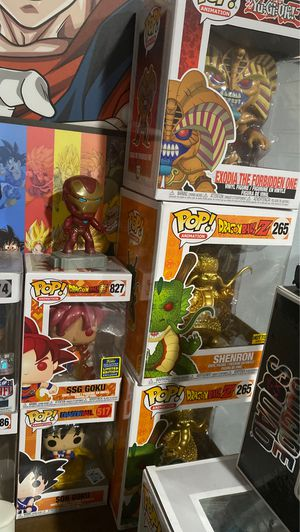 Goku Ssg funko pop and Whole funko pop lot for Sale in Orange, CA