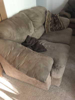 Two Brown Couches for Sale in Fulton, MD