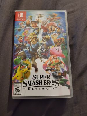 Super Smash Bros Nintendo Switch for Sale in Phoenix, AZ