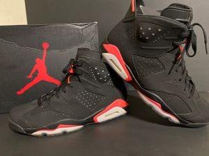 Jordan 6 retro infrared black (2014) size 10.5 for Sale in Burbank, CA
