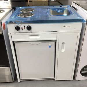 "Compact Kitchen Cocina gabinete integrado Fregadero Hornilla Mini Fridge 30"" for Sale in Miami, FL"