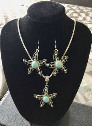 Tibetan Turquoise SeaStar Jewelry Set for Sale in Orlando, FL