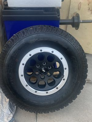 BF Goodrich All Terrain LT Tires with Rims 17 for Sale in Santa Ana, CA