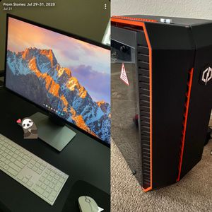 Gaming desktop FULL (with mouse and keyboard ) + Monitor 27.5 dell for Sale in Rancho San Diego, CA