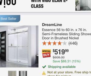 VIGO Shower Glass Door for Sale in Mansfield,  NJ