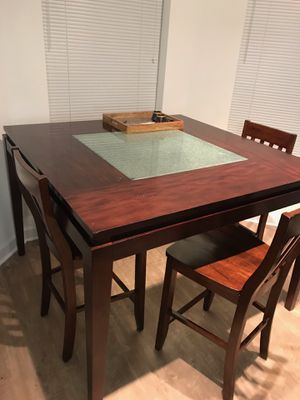 REAL WOOD dining table set for Sale in Germantown, MD