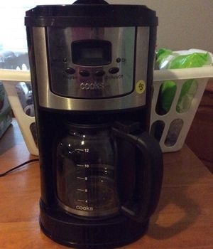 Cooks coffee maker in black for Sale in Poinciana, FL