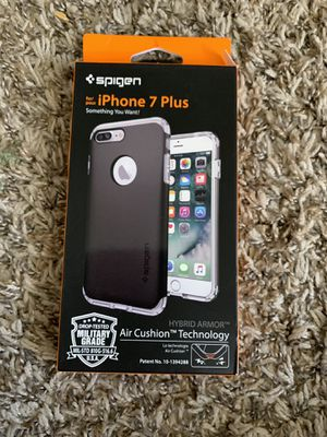 Spigen IPhone 7 Plus case brand new for Sale in Long Beach, CA