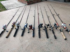 Small fishing combos for Sale in Pembroke Pines, FL