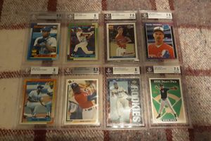 Baseball Card Graded Lot - Griffey Sosa Jeter for Sale in Chandler, AZ