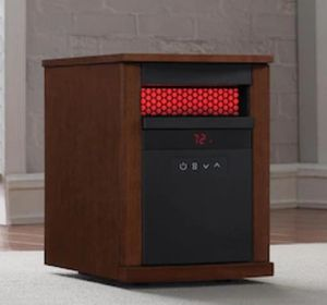 ELECTRIC SPACE HEATER - Duraflame 1500-Watt Infrared Quartz Cabinet Electric Space Heater for Sale in Jersey City, NJ