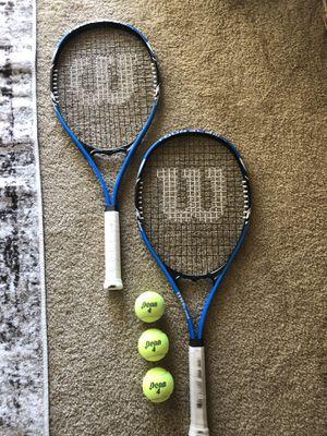 Wilson tennis rackets for Sale in Rancho Cucamonga, CA