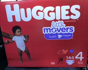 NEW HUGGIES Little Movers Diapers for Sale in Laveen Village, AZ
