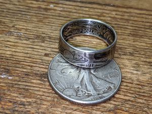 Silver half dollar ring for Sale in Winchester, VA