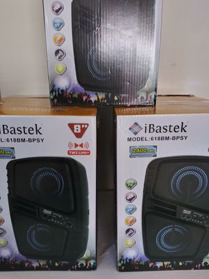 SPEAKER RECHARGEABLE PORTABLE WIRELESS $45. NEW IN BOX for Sale in Rialto, CA
