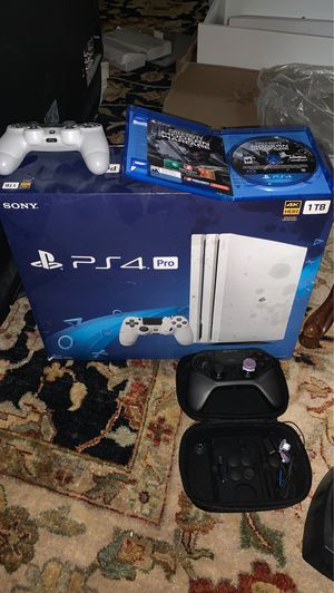 PS4 Pro Limited Edition + Astro C40 controller + Benq monitor + Game for Sale in Alexandria, VA