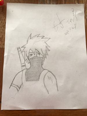 Kakshi drawing signed by kakshi for Sale in Pasco, WA