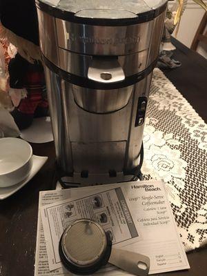 Hamilton Beach Single Cup Coffee Maker for Sale in Charleston, WV