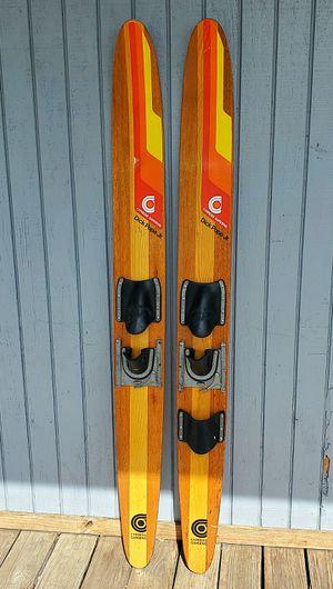 Vintage Dick Pope jr skis for Sale in Davie, FL