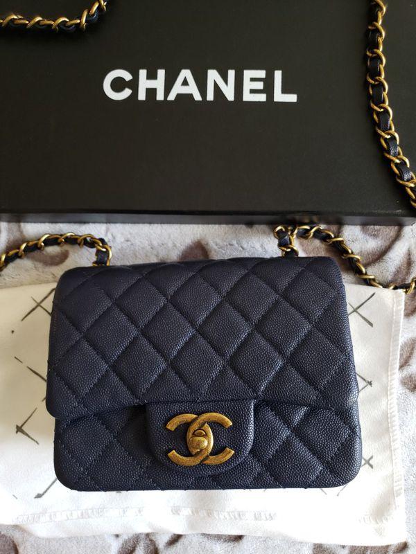 Chanel Mini Square Crossbody Bag