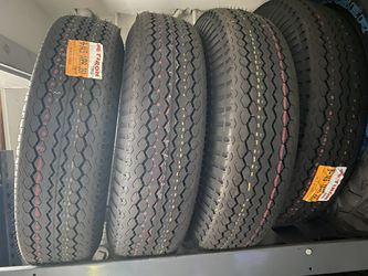4 new trailer tires 8-14.5 for Sale in Gresham,  OR