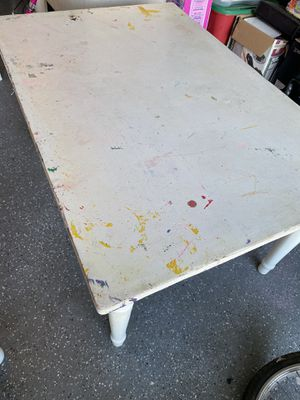 White Pottery Barn Desk - Table for Sale in Anaheim, CA