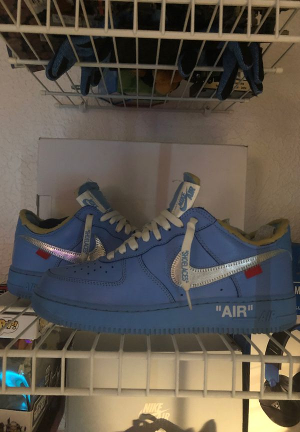 Off white Air Force one mca