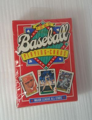 1991 Collectible Baseball Playing Cards No.286 Major League All-Stars BNIP - FIRM PRICE for Sale in Leander, TX