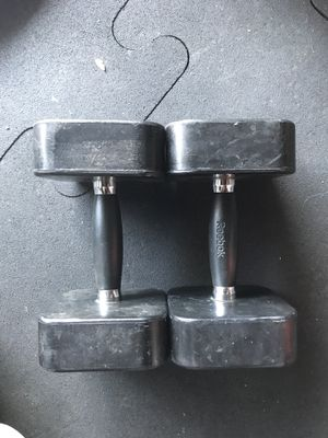 Dumbbells (2x15s) for $15 Firm!!! for Sale in Burbank, CA