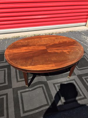 High end vintage Antique Baker Furniture Co. coffee table with extension for Sale in Houston, TX