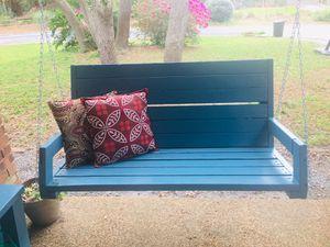 Handmade wooden porch swing for Sale in DeLand, FL