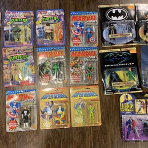 Batman Tmnt Toy Biz for Sale in Garden City, NY