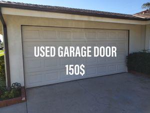 Used garage door for sale for Sale in Bloomington, CA