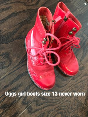 Uggs girls boots size 13 never worn for Sale in Jacksonville, NC