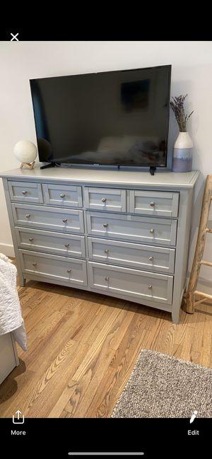 Beautiful grey dresser for Sale in Los Angeles, CA