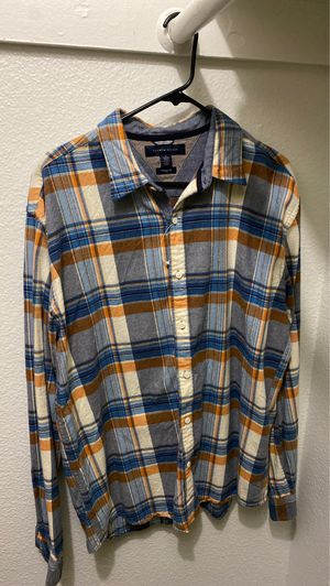 Tommy Hilfiger men's flannel for Sale in Corona, CA