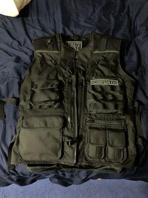 Motorcycle vest Scorpion vest like new for Sale in Fontana, CA