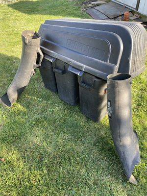 Craftsman riding mower 3 bagger attachment for Sale in Palos Hills, IL