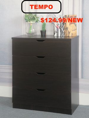 4 Drawer Chest , Red Cocoa for Sale in Downey, CA