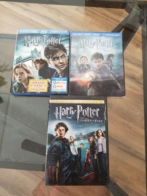 Harry Potter collection dvd blue ray for Sale in Albuquerque, NM