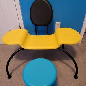 🎨 Kids Bumblebee Chair & Stool for Sale in Stonecrest, GA