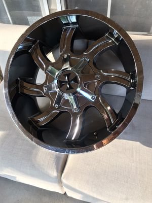 Rims (4) + 2 tires for Sale in Conway, SC