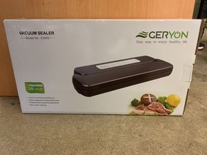 New!! GERYON Automatic VACUUM SEALER Food Sealer Machine with Starter Kit for Sale in Pelham, NH