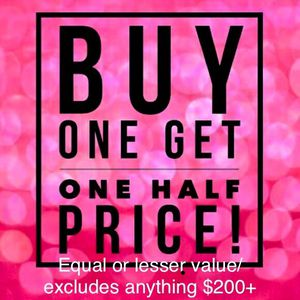 BLACK FRIDAY BOGO HERE!! for Sale in Vacaville, CA