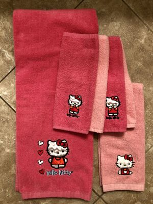 Hello Kitty Towels for Sale in Surprise, AZ